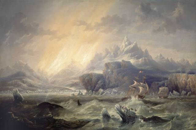HMS Erebus and Terror in the Arctic John Wilson Carmichael.jpg