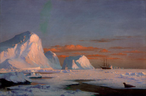 William Bradford, Arctic Sunset, 1874.png