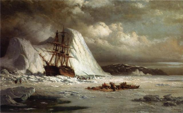 William-Bradford-Icebound-Ship
